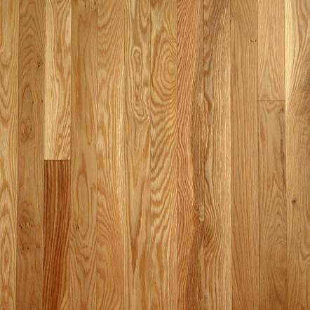 "3/4"" x 1 1/2"" #1 Common Unfinished Solid White Oak Flooring"