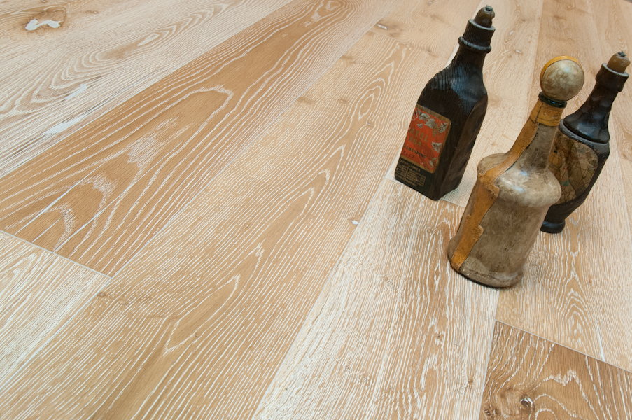 Bare Roots European White Oak Plank Blond 7 1 2 Quot Wide Flooring