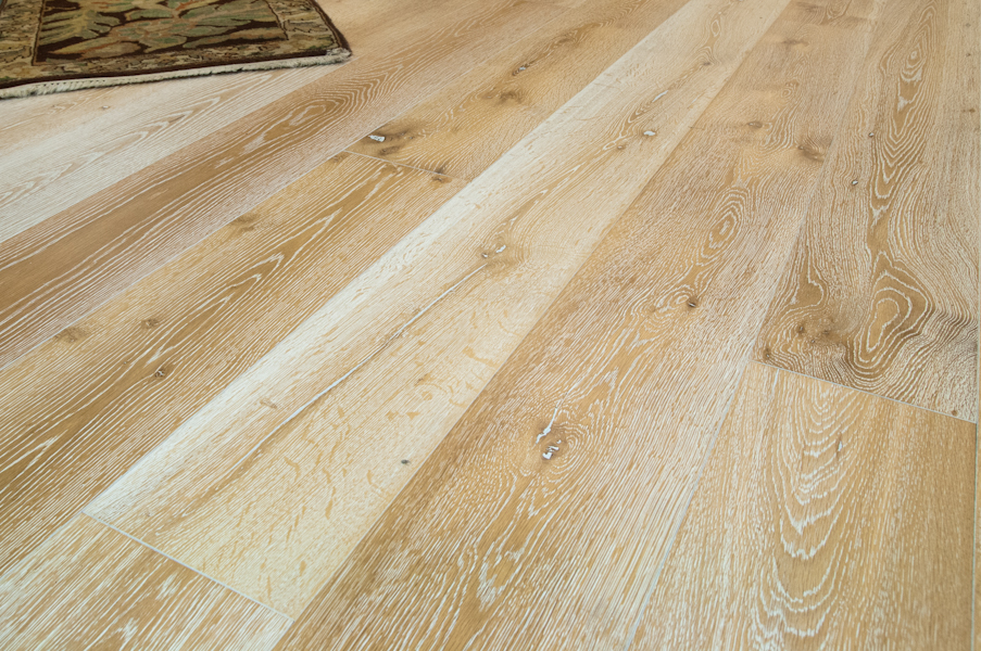 Bare Roots European White Oak Plank Blond 7 1 2 Quot Wide Flooring