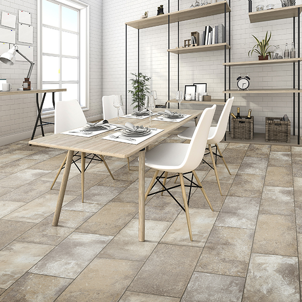 Versa Click Flooring >> Rocky Crest White Wool | Congoleum | Triversa ID