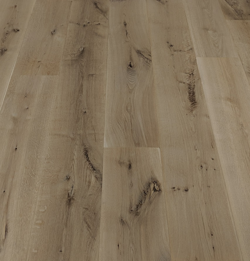 "5"" Live Sawn White Oak 2' - 10' Long Unfinished Solid Hardwood Flooring"