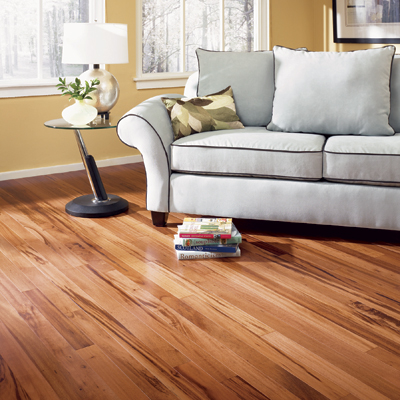 Exotic Tigerwood Hardwood Flooring